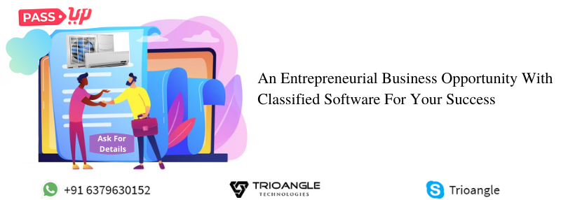 An Entrepreneurial Business Opportunity With Classified Software For Your Success